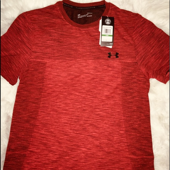 Under Armour Other - Under Armour Rust Orange Mica short sleeves sz LG